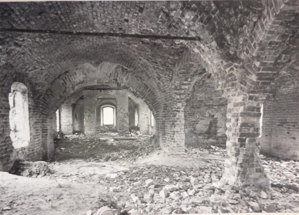Вид со стороны северного портала