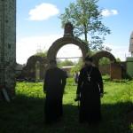 Визит епархиального древлехранителя иеромонаха Серафима (Голованова)