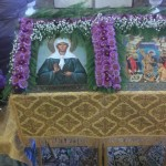 Ковчег с частицей мощей святой блаженной Матроны Московской в Селёвкино